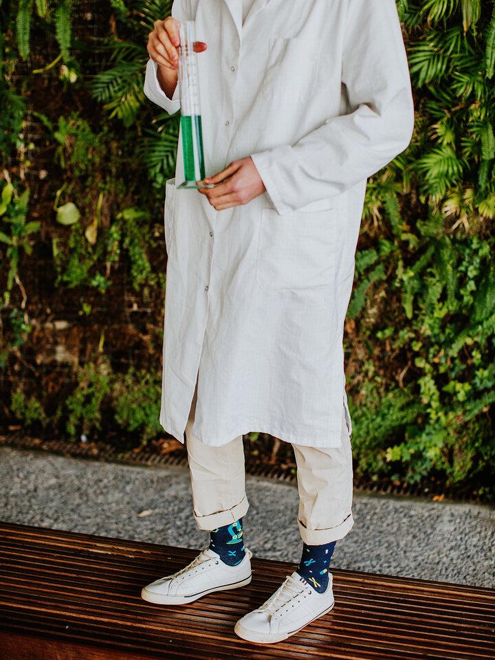 Pre dokonalý a originálny outfit Chaussettes rigolotes ADN