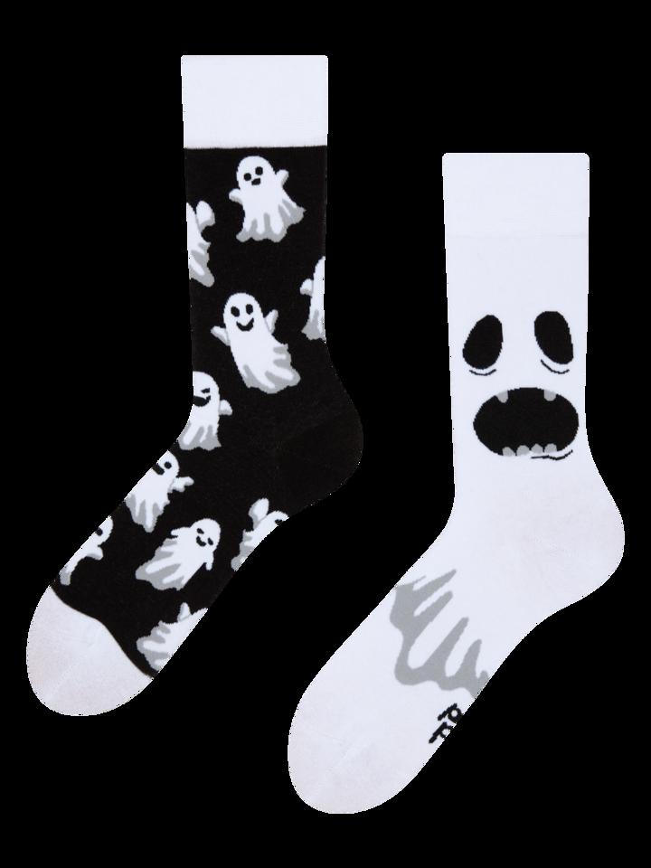 pro dokonalý a originální outfit Veselé ponožky Duch