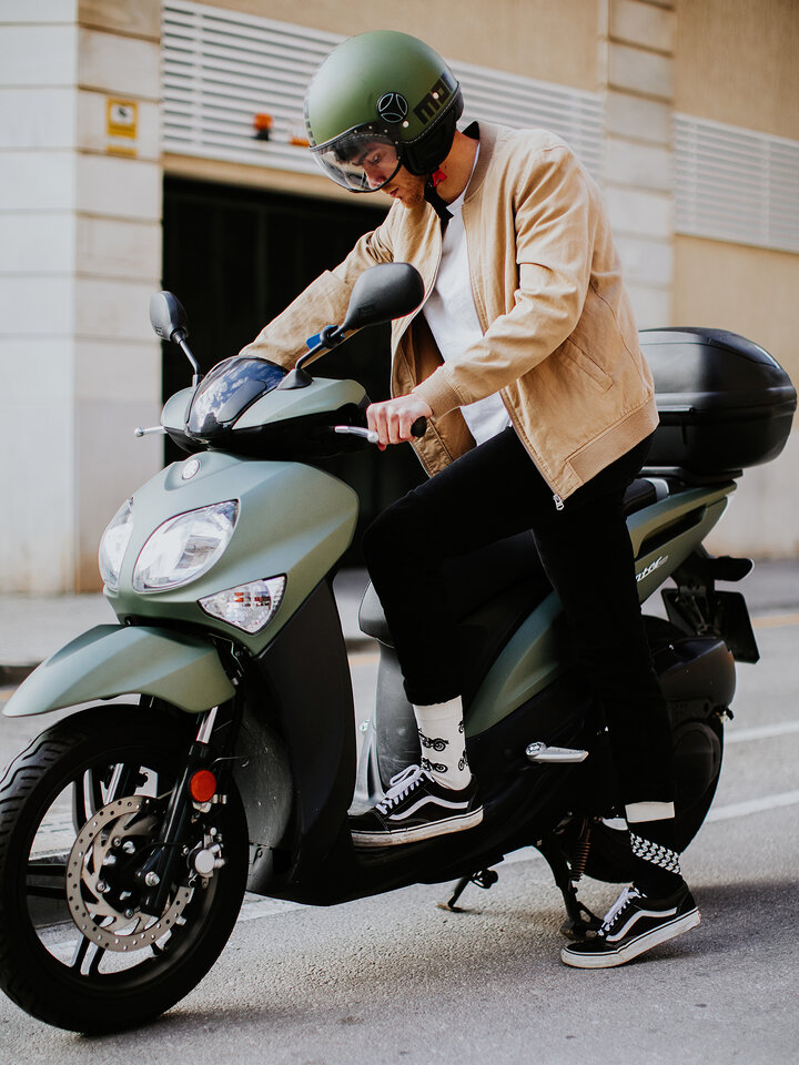 Výnimočný darček od Dedoles Chaussettes rigolotes Motocyclette