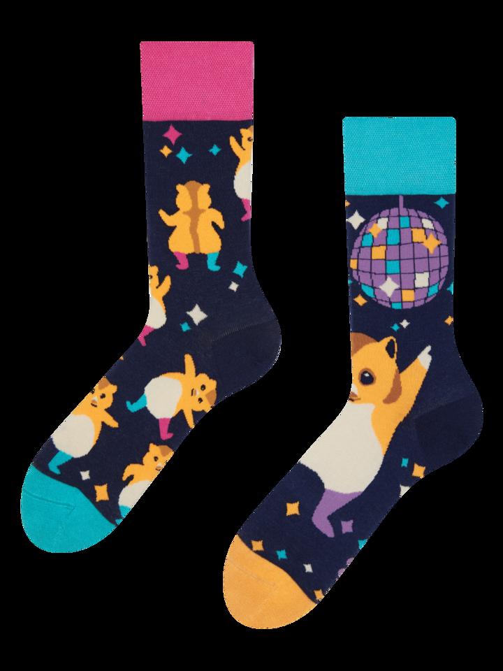 Výjimečný dárek od Dedoles Veselé ponožky Párty křečci