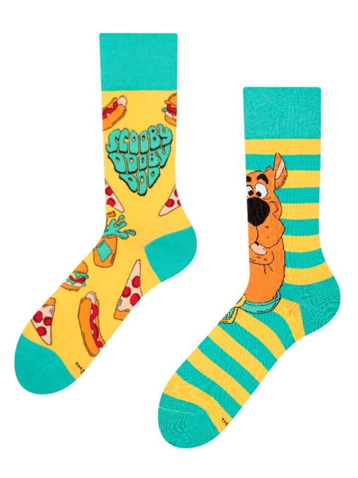Výnimočný darček od Dedoles Veselé ponožky Scooby Doo ™ Láska k jedlu