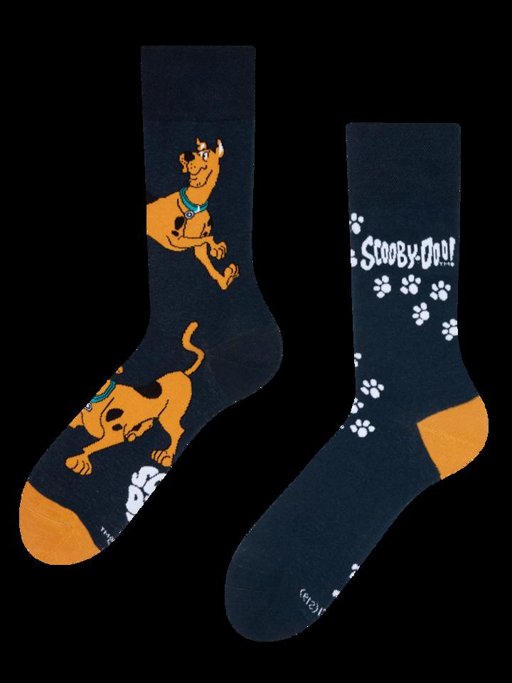 Pre dokonalý a originálny outfit Vrolijke sokken Scooby Doo ™ Voetafdrukken