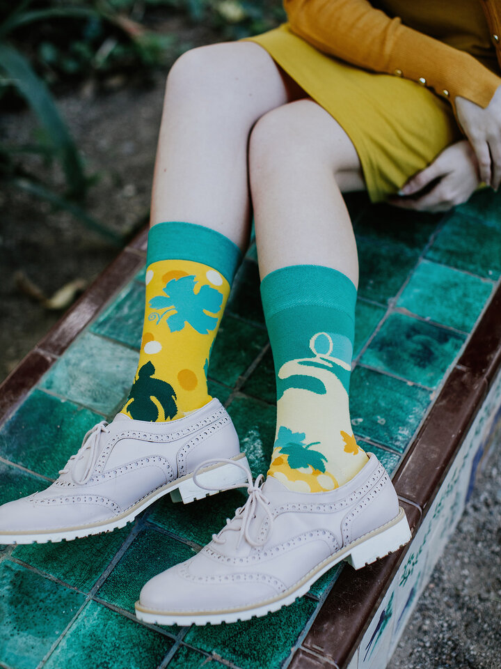 Lifestyle photo Regular Socks Vine