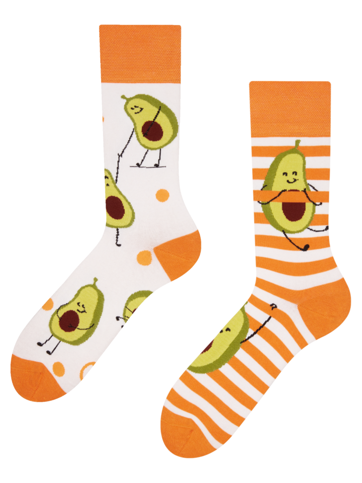 Sale Regular Socks Funny Avocado