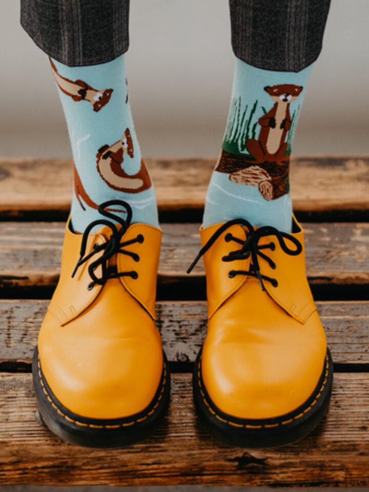 Pre dokonalý a originálny outfit Veselé ponožky Vydry