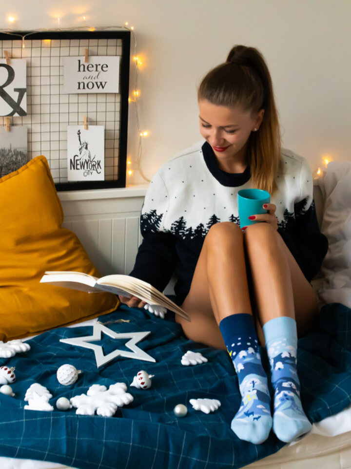 Lifestyle photo Regular Socks Winter Country