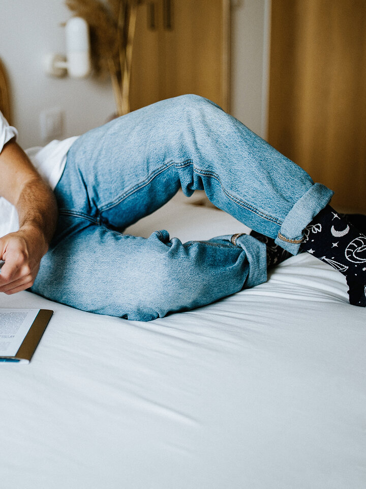 Lifestyle foto Vrolijke sokken Sterrenbeelden