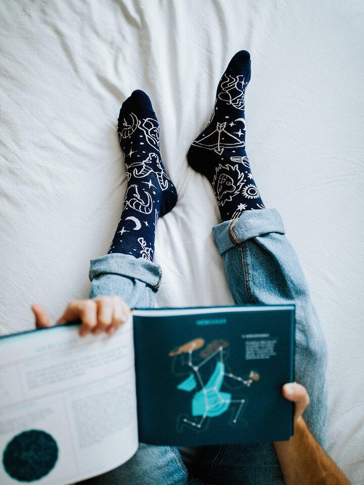 Tip na darček Vrolijke sokken Sterrenbeelden