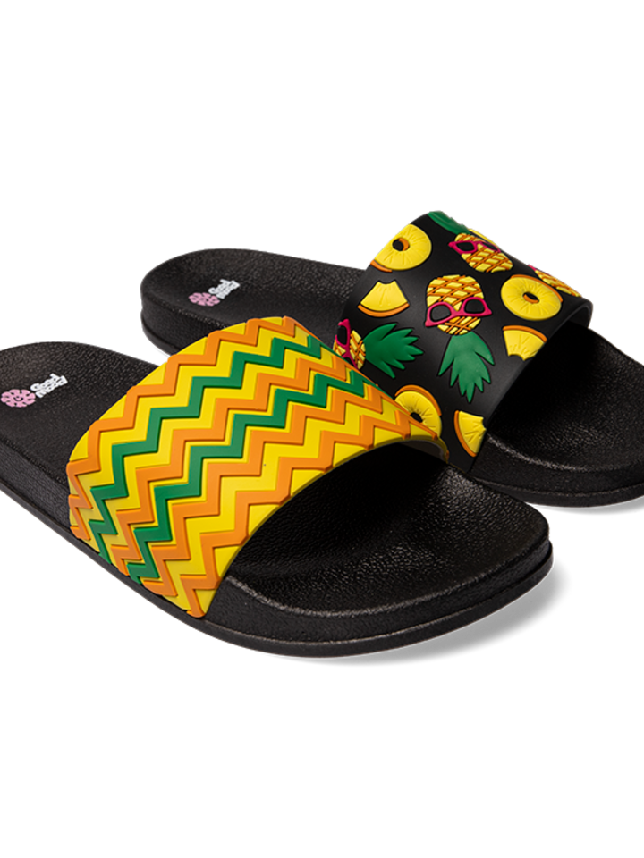Sale Slides Pineapple
