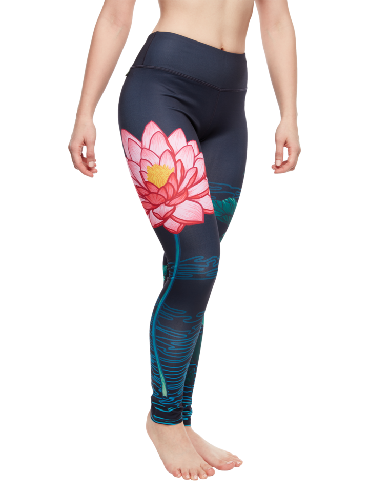 Výpredaj Leggings d'entraînement rigolos Lotus