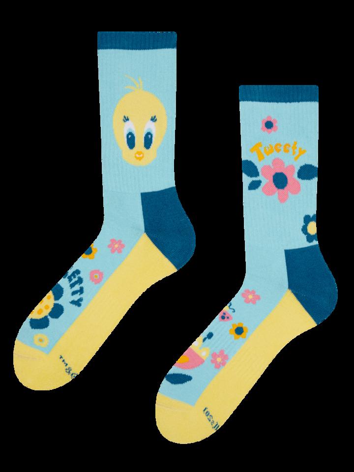 Tip na darček Veselé športové ponožky Looney Tunes ™ Rozkošný Tweety