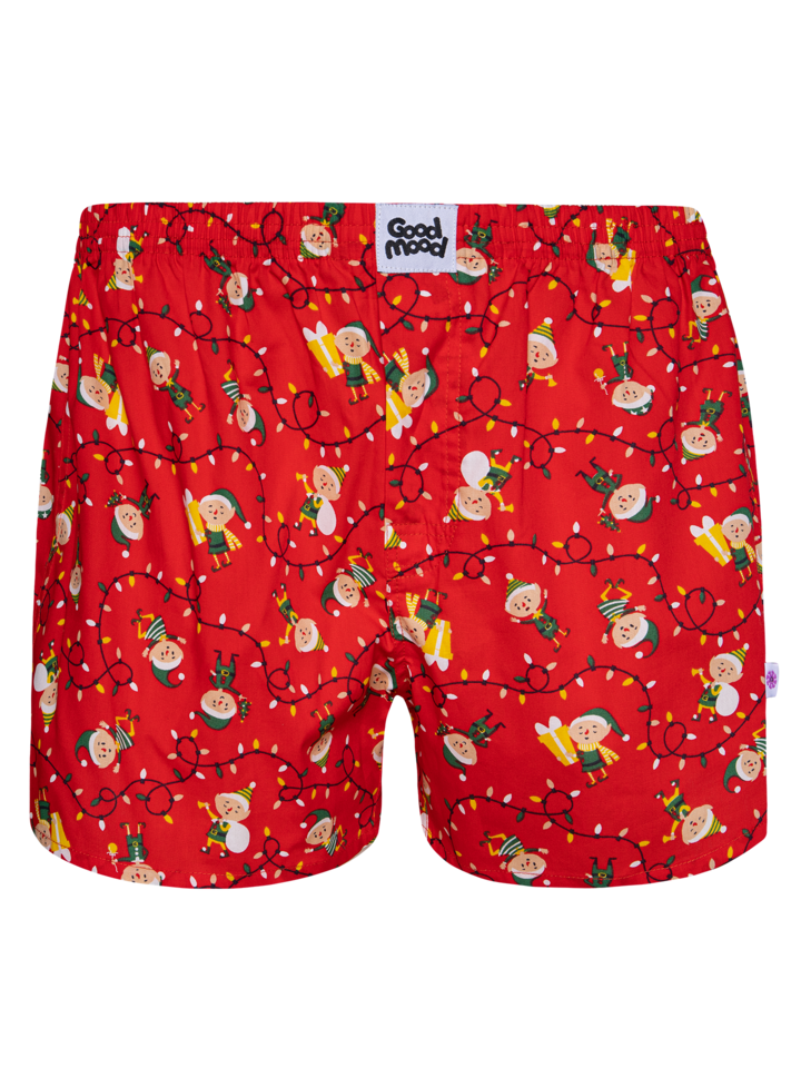 Looking for an original and unusual gift? The gifted person will surely surprise with Men's Boxer Shorts Elves
