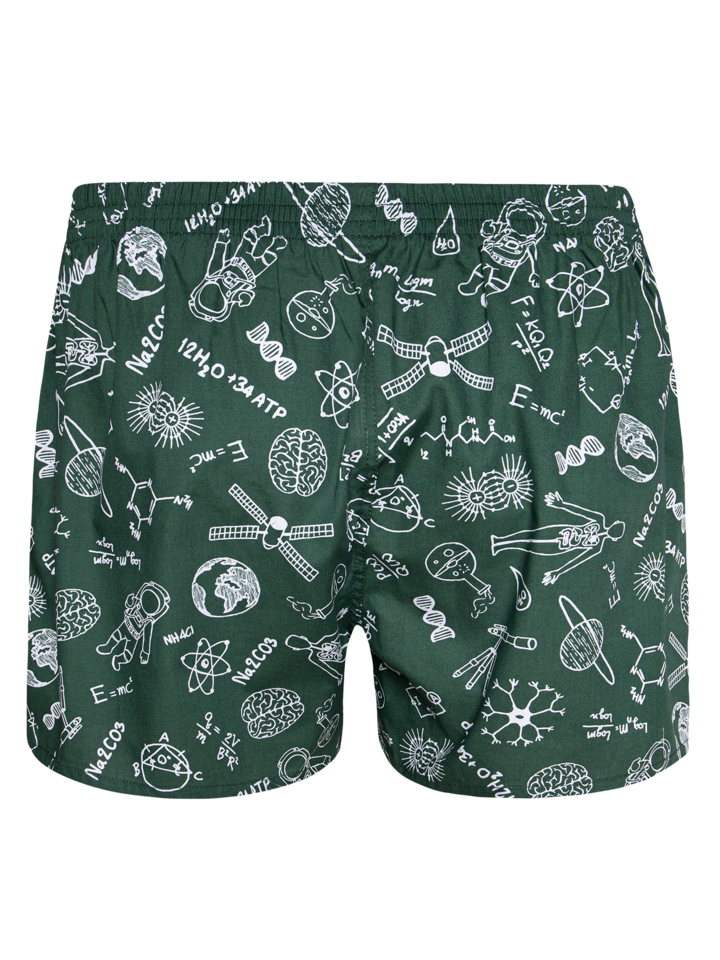 Lifestyle photo Men's Boxer Shorts Physics vs. Chemistry