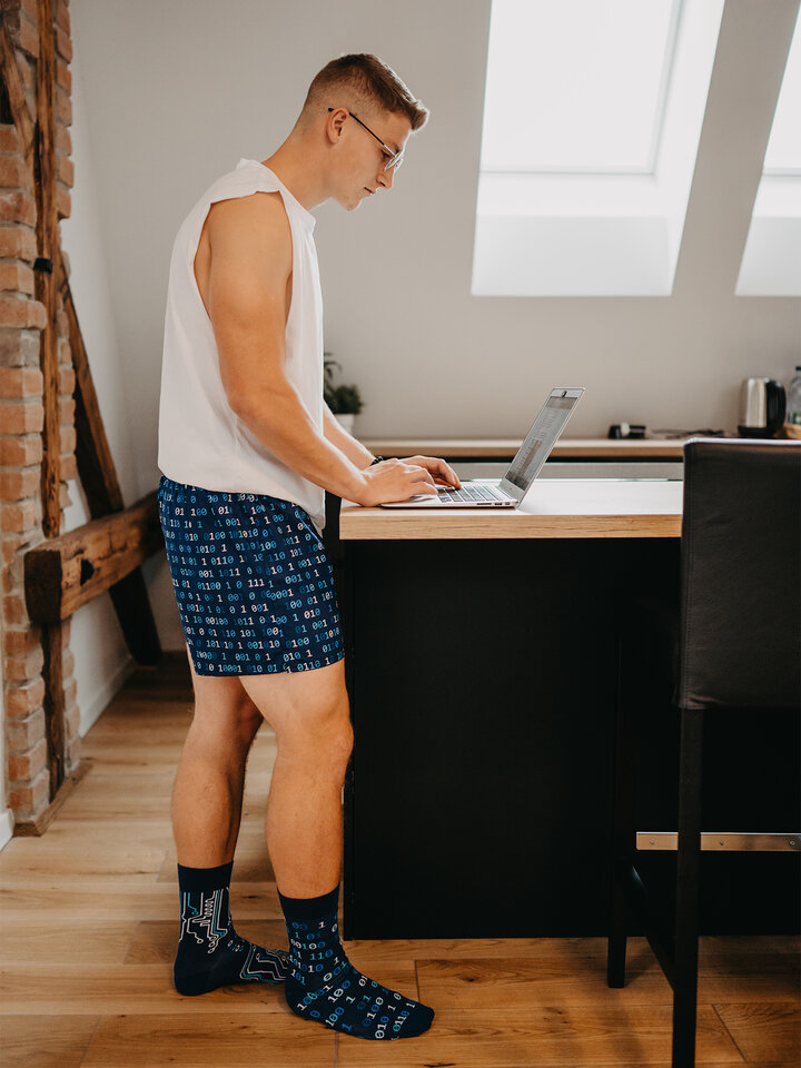 Potešte sa týmto kúskom Dedoles Men's Boxer Shorts IT