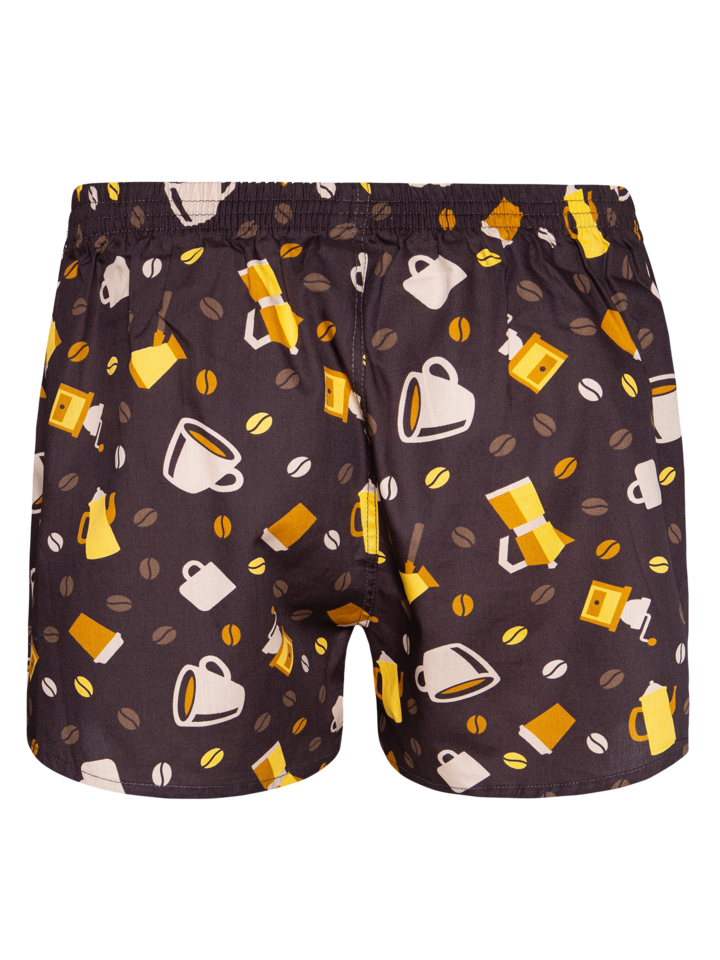 Sale Men's Boxer Shorts Coffee Beans