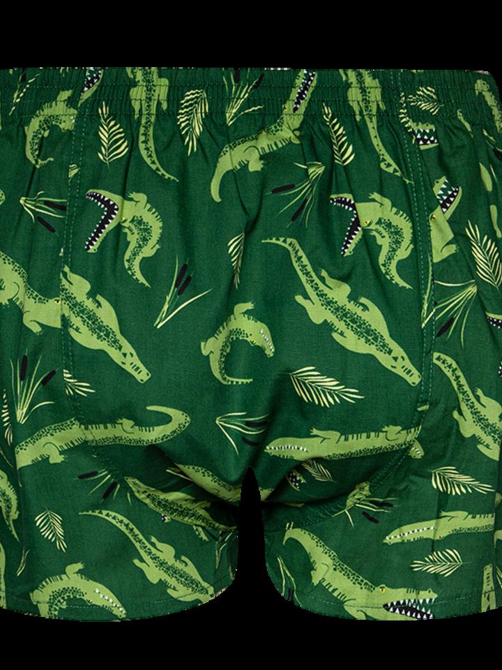 Pre dokonalý a originálny outfit Men's Boxer Shorts Crocodile