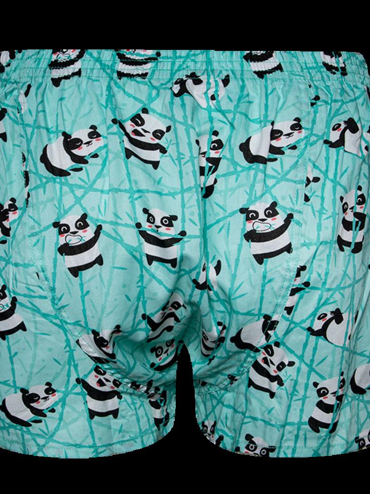 Pre dokonalý a originálny outfit Men's Boxer Shorts Panda