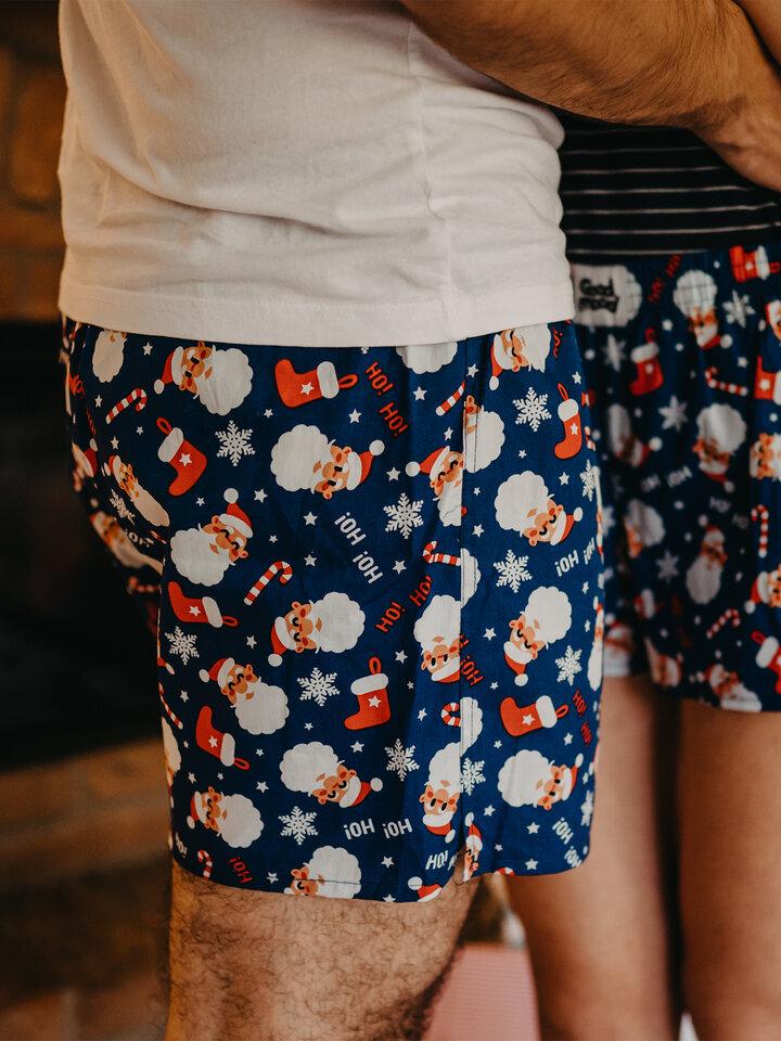 Sale Men's Boxer Shorts Santa Claus