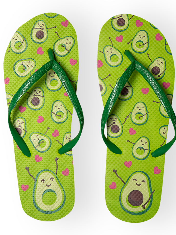 Pre dokonalý a originálny outfit Flip Flops Avocado Love