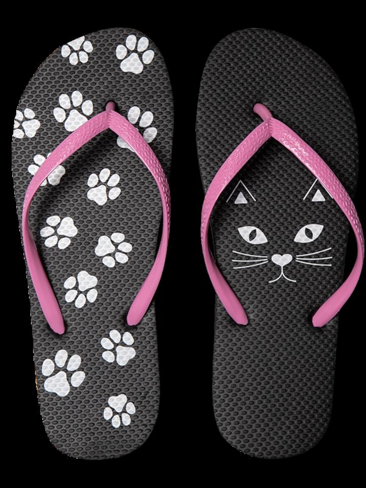 Tip na darček Vrolijke Flip Flops - Kitty