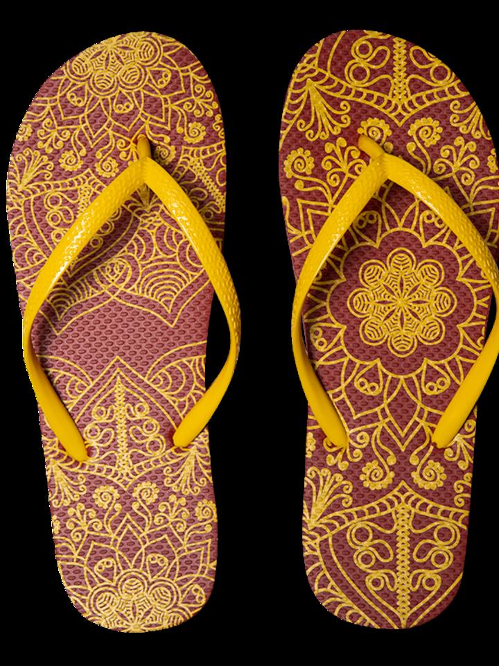 Lifestyle photo Flip Flops Mandala