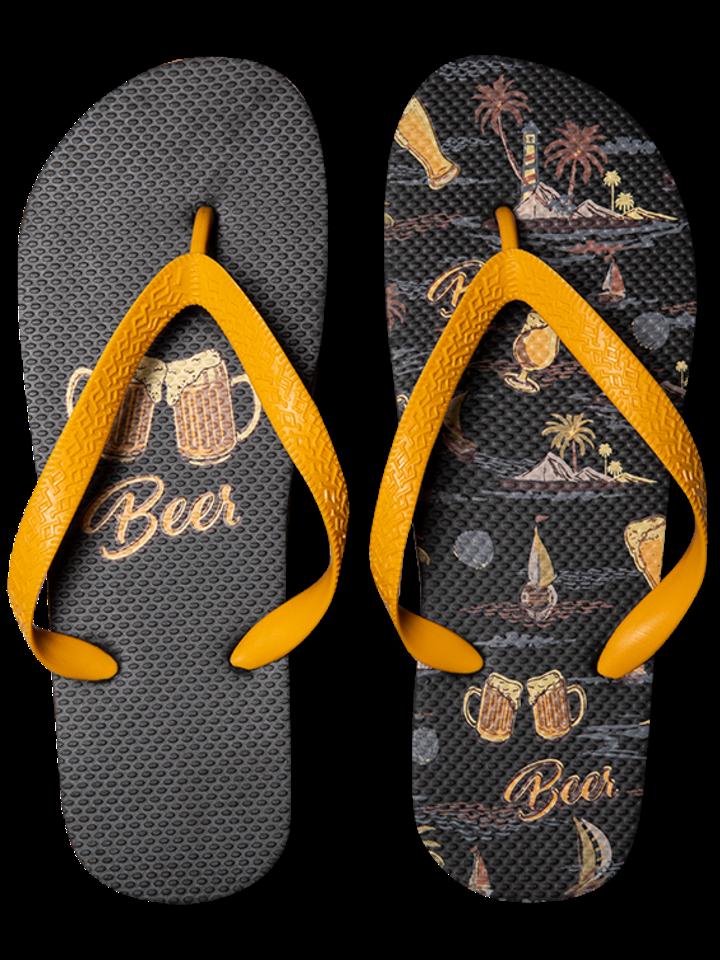 Potešte sa týmto kúskom Dedoles Vrolijke Flip Flops - Beach Beer