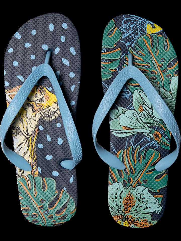 Pre dokonalý a originálny outfit Vrolijke Flip Flops - Tropische jungle