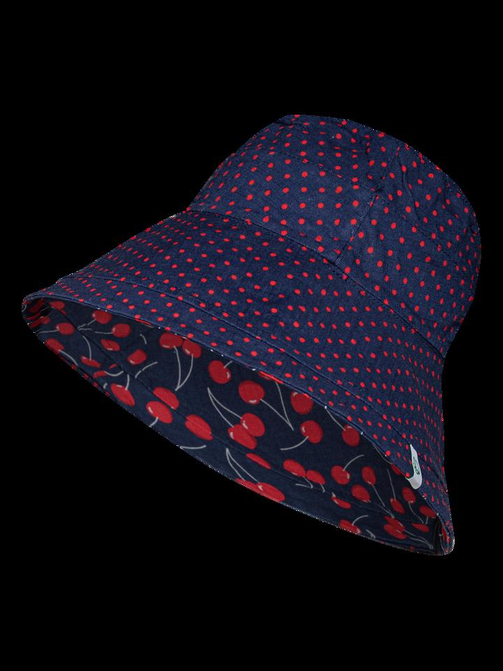 Zľava Sombrero alegre de pescador para mujer Cerezas