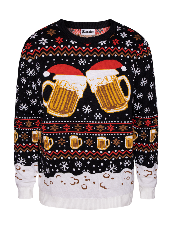 Looking for an original and unusual gift? The gifted person will surely surprise with Christmas Sweater Draft Beer