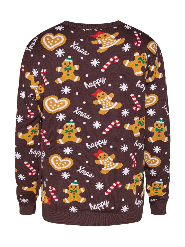 Original gift Christmas Sweater Gingerbread