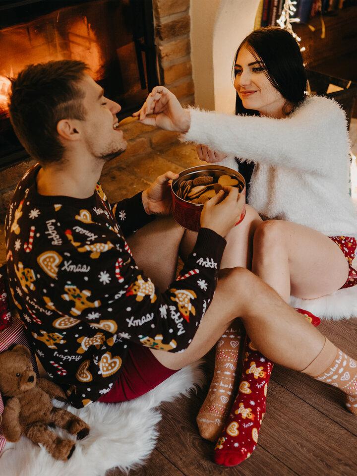 Pre dokonalý a originálny outfit Christmas Sweater Gingerbread