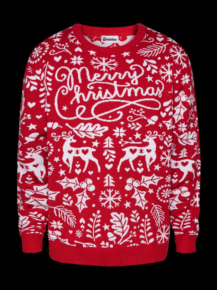 Ajándék tipp Vidám karácsonyi pulcsi Vidám karácsony