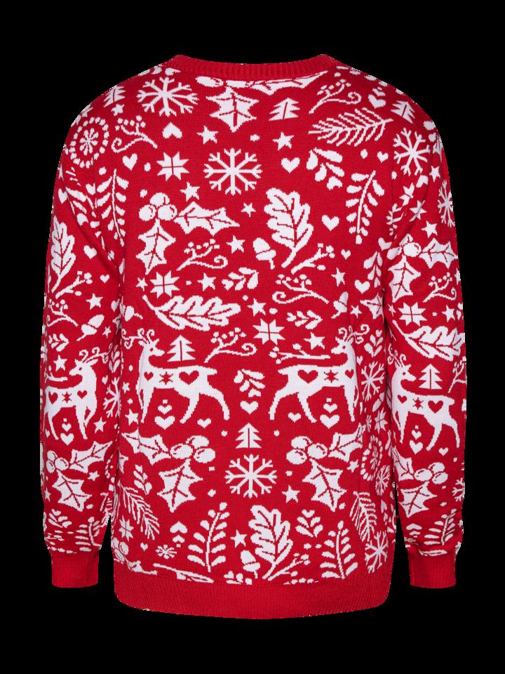 Foto Wesoły sweter świąteczny Wesołych świąt