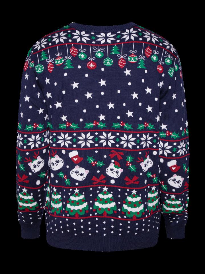 Pre dokonalý a originálny outfit Christmas Sweater Christmas Cats