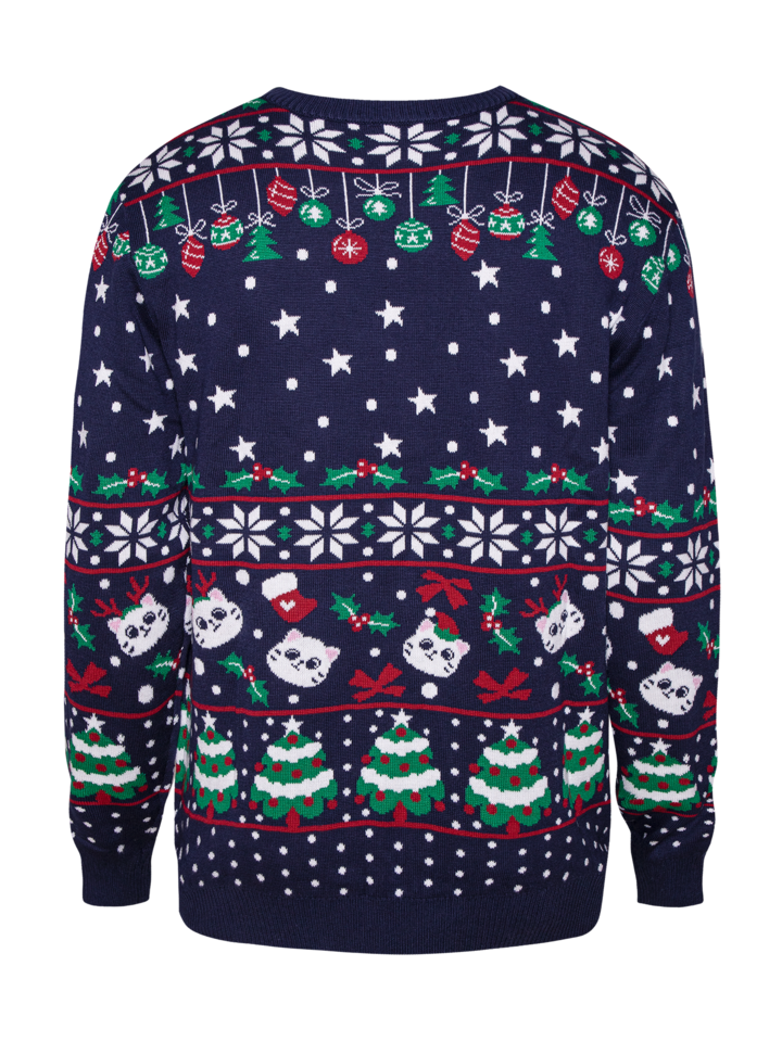 Pre dokonalý a originálny outfit Sudadera alegre de Navidad Gatos navideños