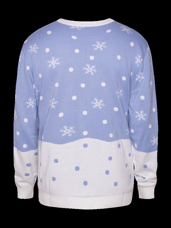 Hľadáte originálny a nezvyčajný darček? Obdarovaného zaručene prekvapí Wesoły sweter świąteczny Zimowy lis