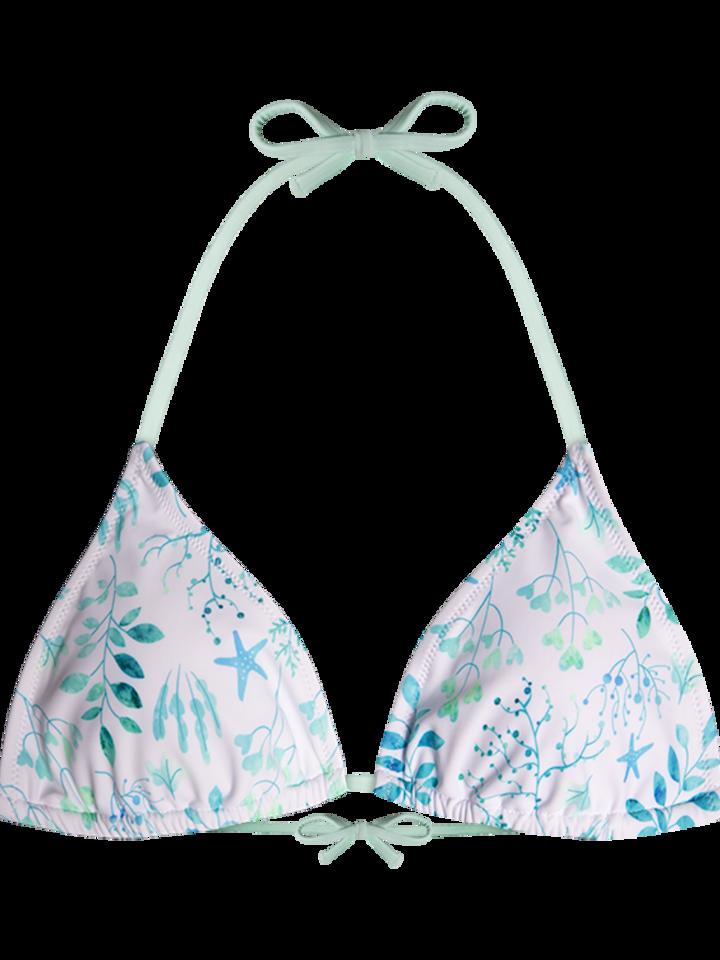 Potešte sa týmto kúskom Dedoles Triangle Bikini Top Watercolour