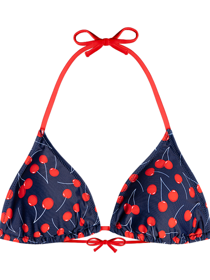 Looking for an original and unusual gift? The gifted person will surely surprise with Triangle Bikini Top Cherries