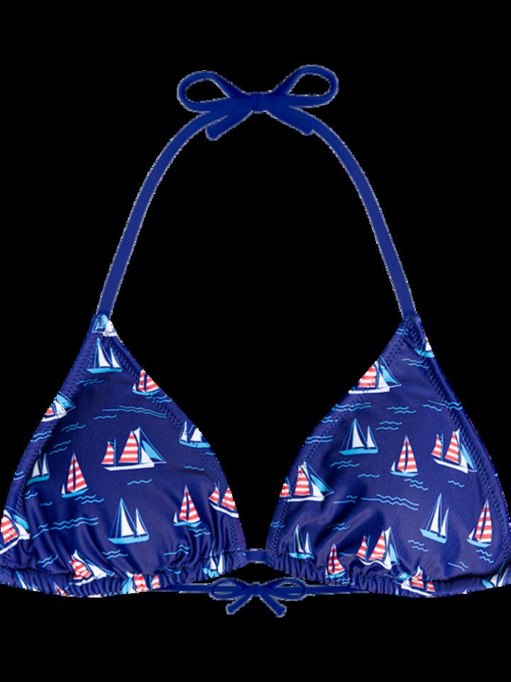 Sale Triangle Bikini Top Sailboats