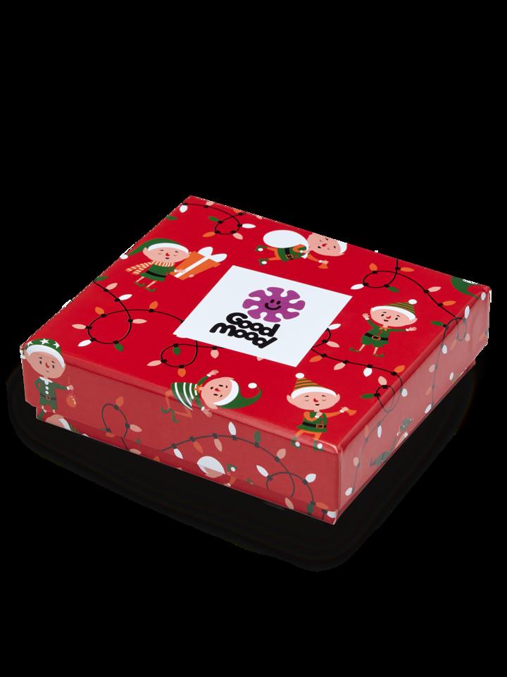 Hľadáte originálny a nezvyčajný darček? Obdarovaného zaručene prekvapí Vianočná darčeková krabička dámskych nohavičiek