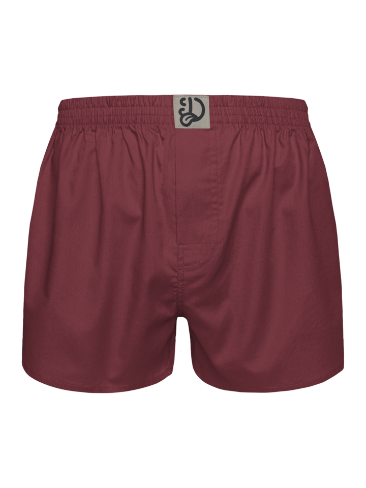 Sale Wine Red Men's Boxer Shorts