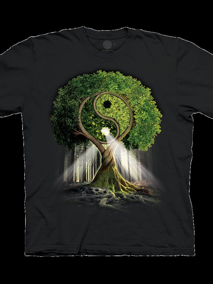für ein vollkommenes und originelles Outfit T-Shirt Yin Yang