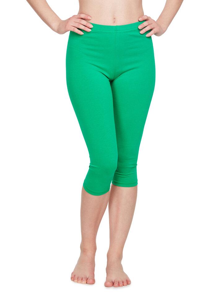 Obrázok produktu Groene driekwart katoenen leggings