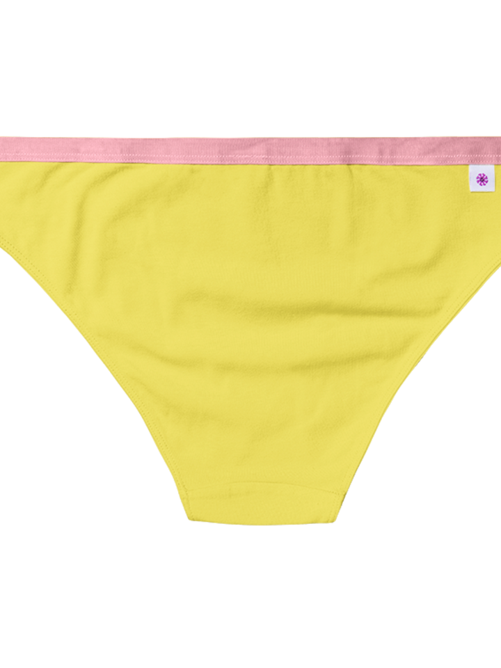 Sale Yellow Women's Briefs