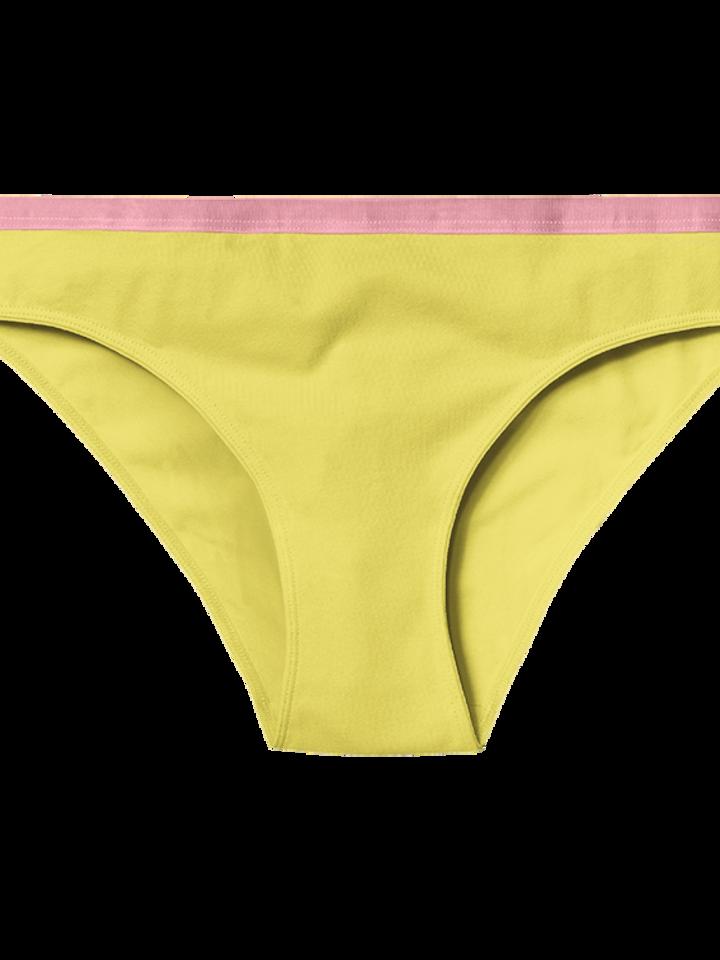 pro dokonalý a originální outfit Žluté dámské kalhotky
