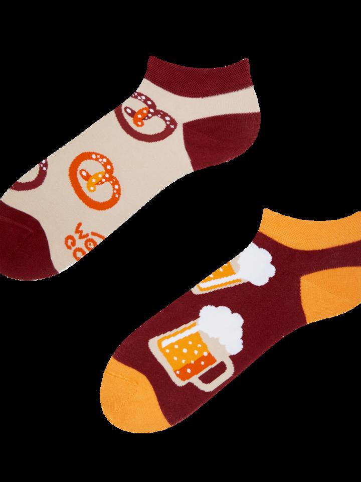 Zľava Veselé členkové ponožky Pivo