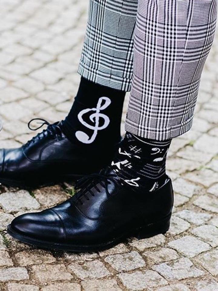 Výnimočný darček od Dedoles Veselé ponožky Hudba