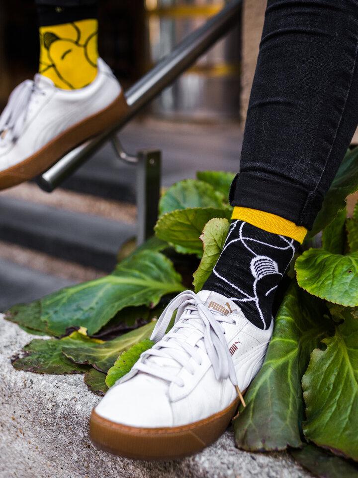 Pre dokonalý a originálny outfit Vrolijke sokken Licht