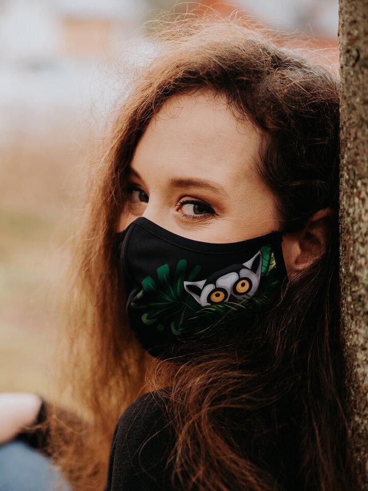 Výpredaj Masque facial antibactérien rigolo Lémurien