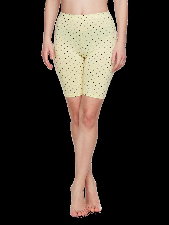 Pre dokonalý a originálny outfit Yellow Cycling Shorts Dots